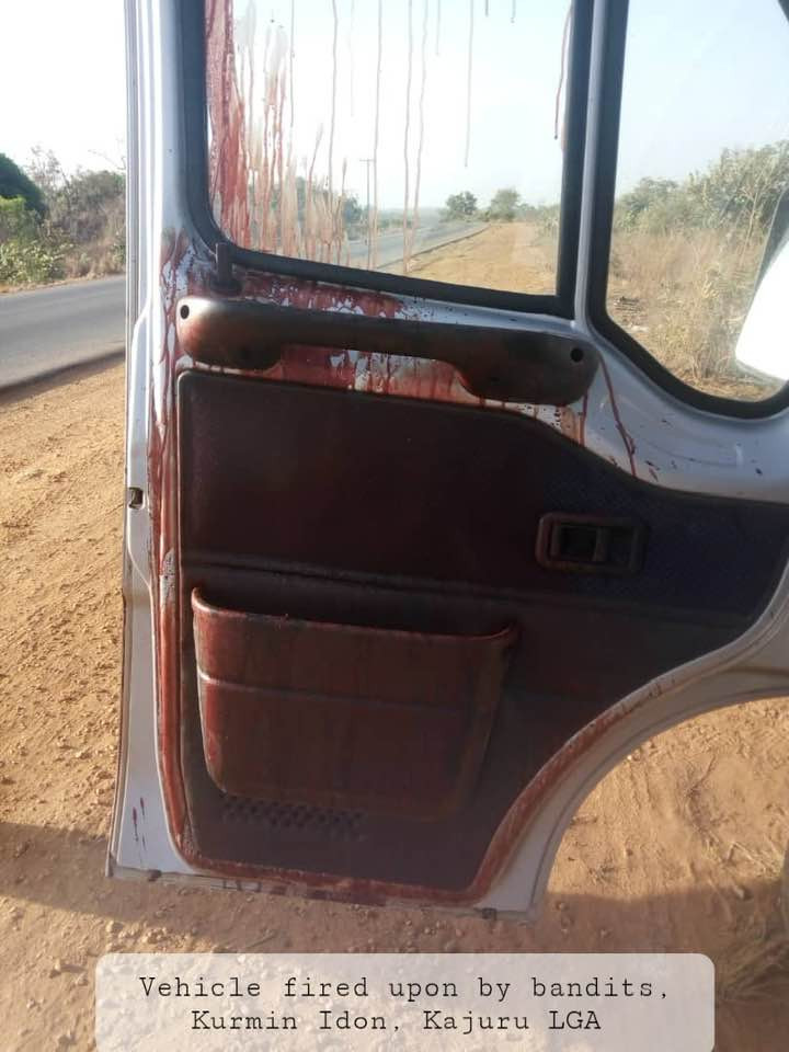 Two injured as armed bandits open fire on vehicle along Kaduna-Kachia Road