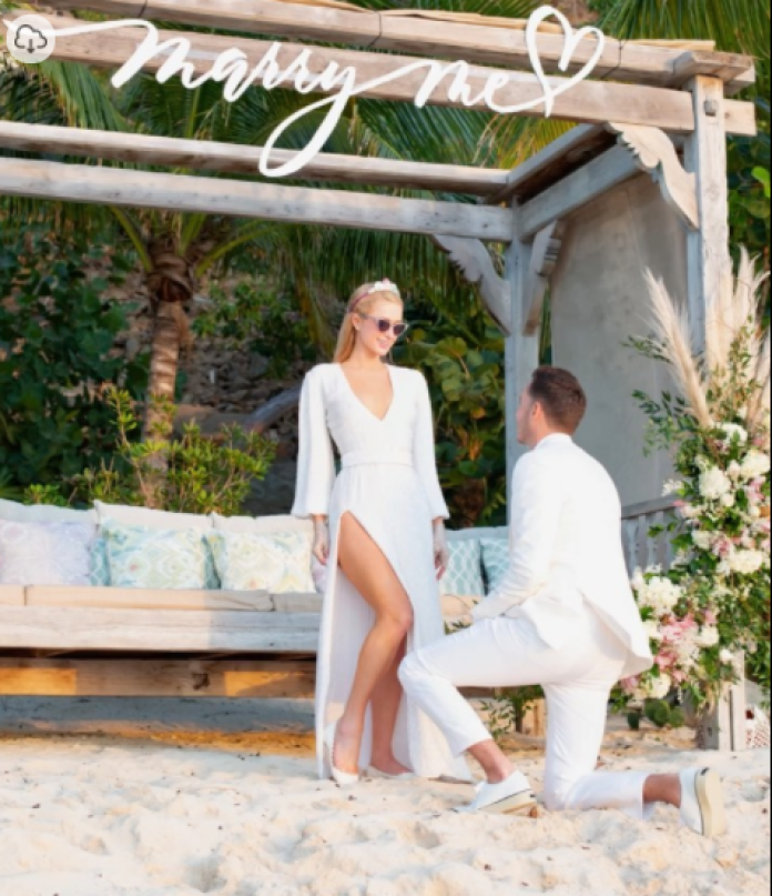 She Said Yes!!! Paris Hilton Is Engaged To Carter Reum