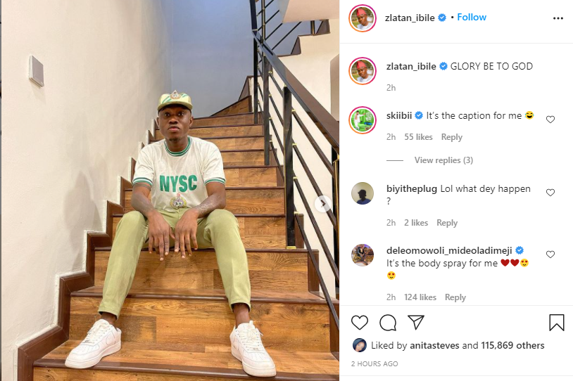 Rapper Zlatan Ibile passes out of NYSC 1