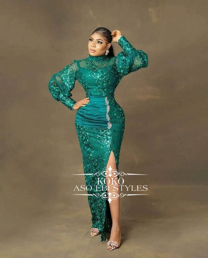 Turn Up This Weekend For Your Owambe In Jaw Dropping Aso Ebi Styles