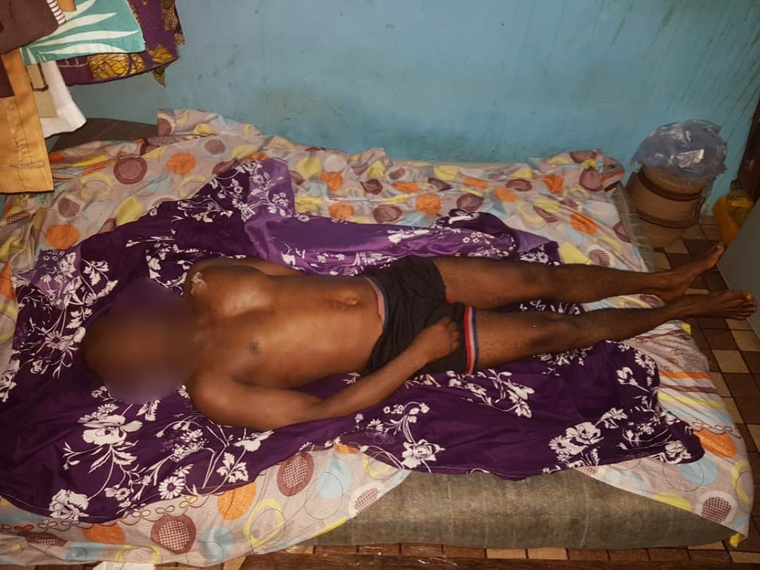 53-year-old man arrested for allegedly stabbing neighbor to death in Lagos (photos)