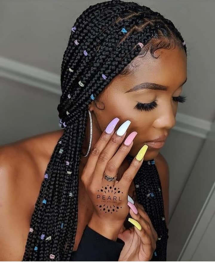 Black Braids Hairstyles For Ladies - Nice-Looking African Hairstyles You Need To See