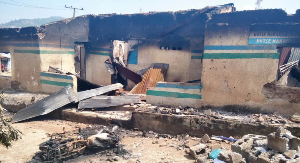 Gunmen kill two police officers, set police station on fire in Abia