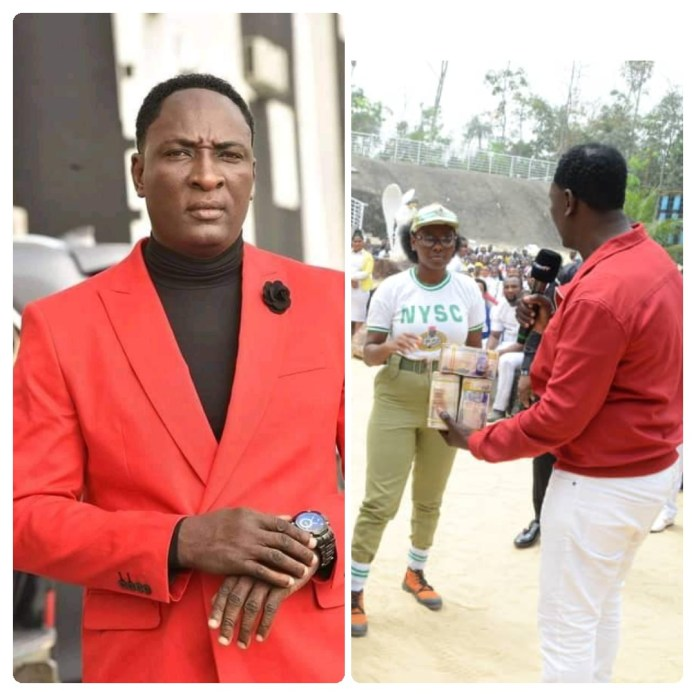 Prophet Jeremiah Omoto Fufeyin Met With the Man Who Dreamed About Christ Mercy Land In