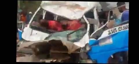 Infant, three others killed as truck rams into bus in Delta state