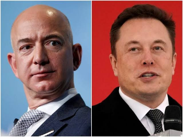 Jeff Bezos overtakes Elon Musk to become the world