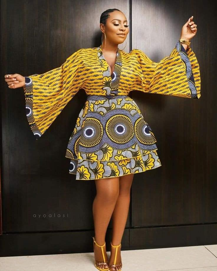 PHOTOS Nice-Looking Ankara Styles For Ladies - Latest Ankara Fashion Outfits 2021