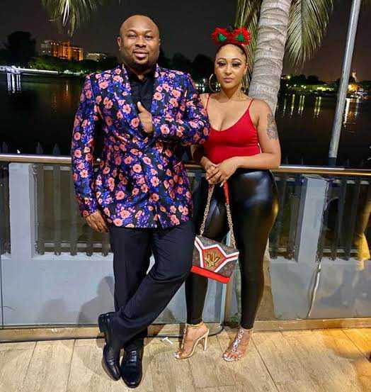 Tonto Dikeh?s ex-husband, Olakunle Churchill introduces actress Rosy Meurer who was at the center of their divorce as his wife