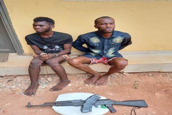 Two notorious criminals arrested on their way to blow up oil pipelines in Edo
