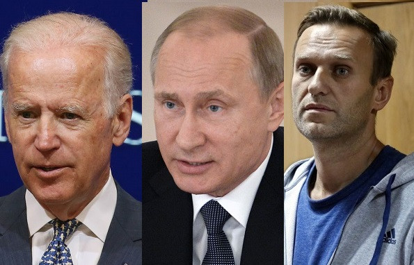 US President Joe Biden set to announce sanctions on Russia over poisoning and jailing of Russian opposition leader, Alexei Navalny