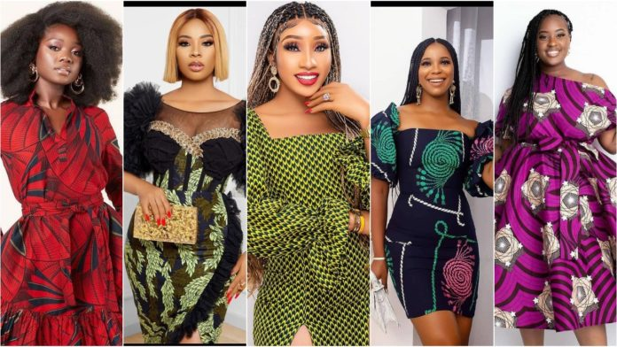 100 Pictures - Ankara Latest Styles Ankara Gown styles for Girls