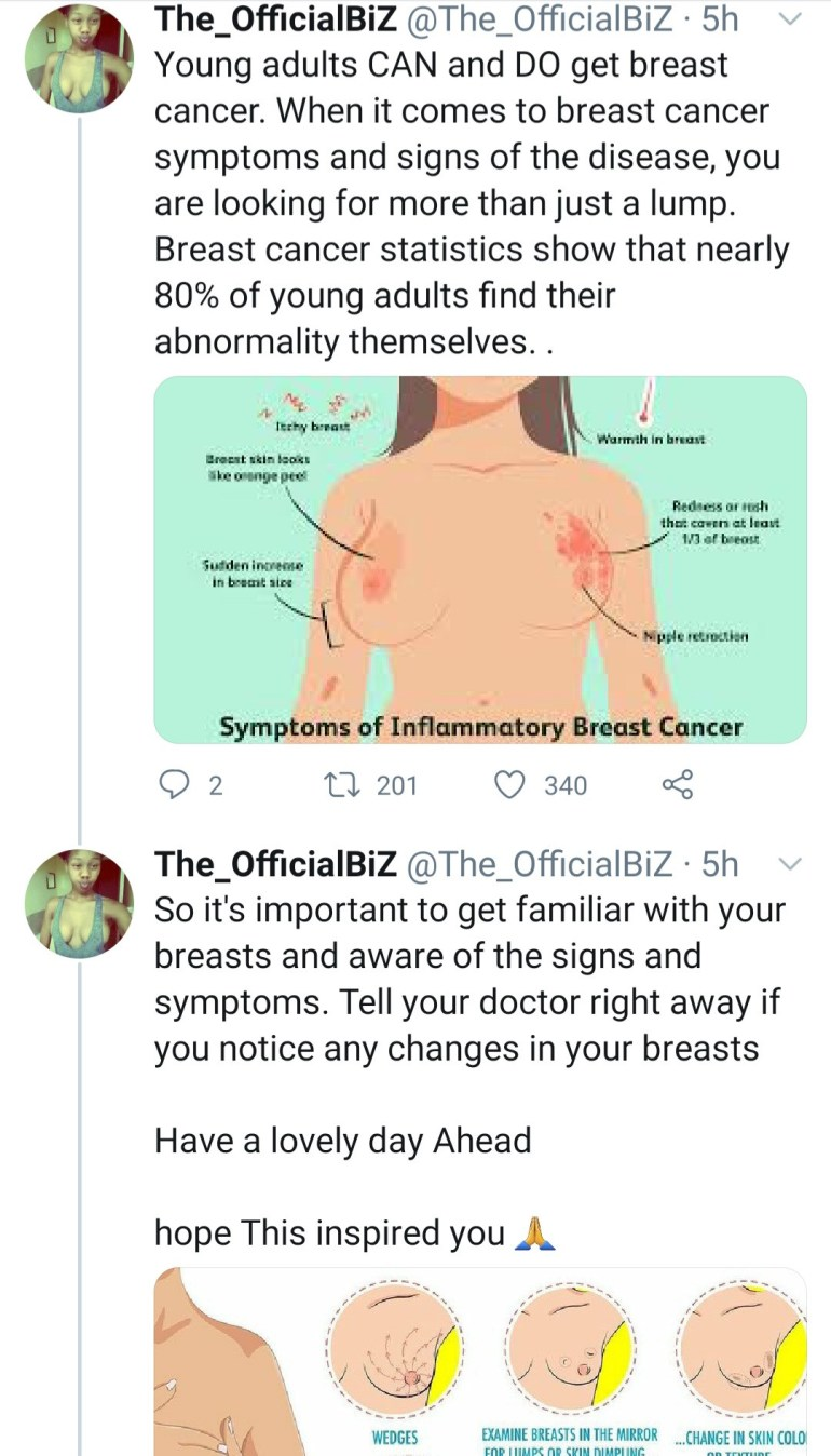 Breast cancer survivor shares topless photo after undergoing double mastectomy as she advices women