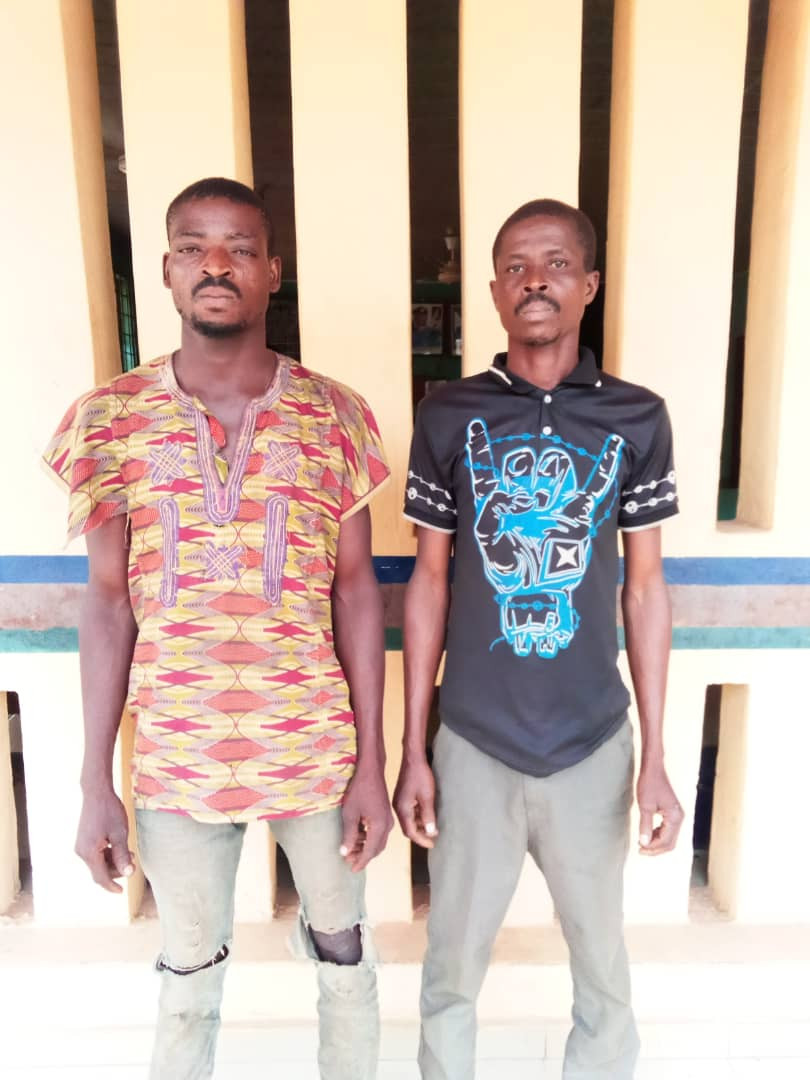Two men arrested for allegedly gang raping the 16-year-old daughter of their neighbor (photo)