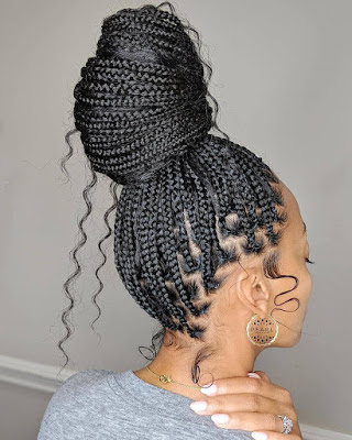 Braids Hairstyles 2021 Pictures: Most Unique Hairstyles For Ladies To Slay