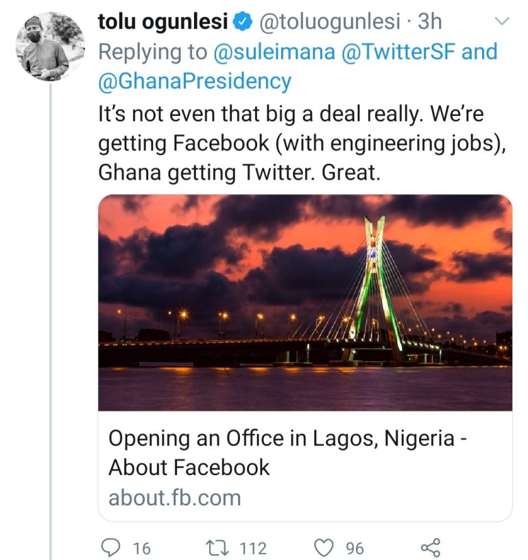 Bank CEO, Abubakar Suleiman blames Nigerians who bad-mouth the country for Twitter