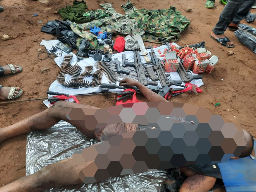 Security agents kill IPOB militia commander and others in sting operation (photos)
