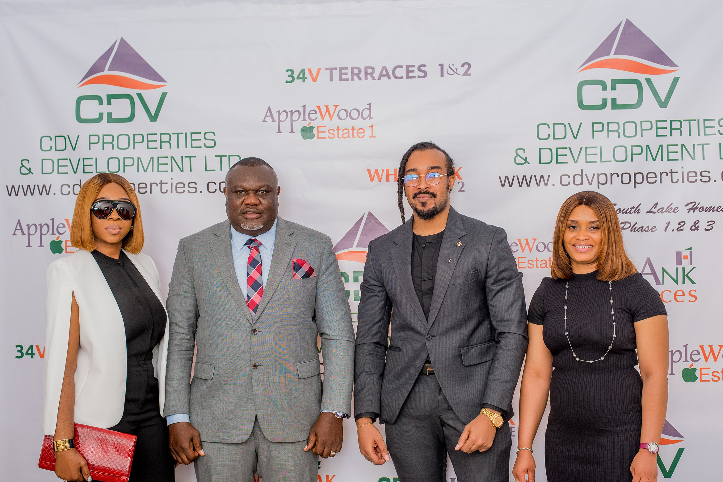 CDV Unveils Bryan Okwara As Ambassador, Flags off New Projects Apple Wood 2 Estate and WhiteOak Estate 2
