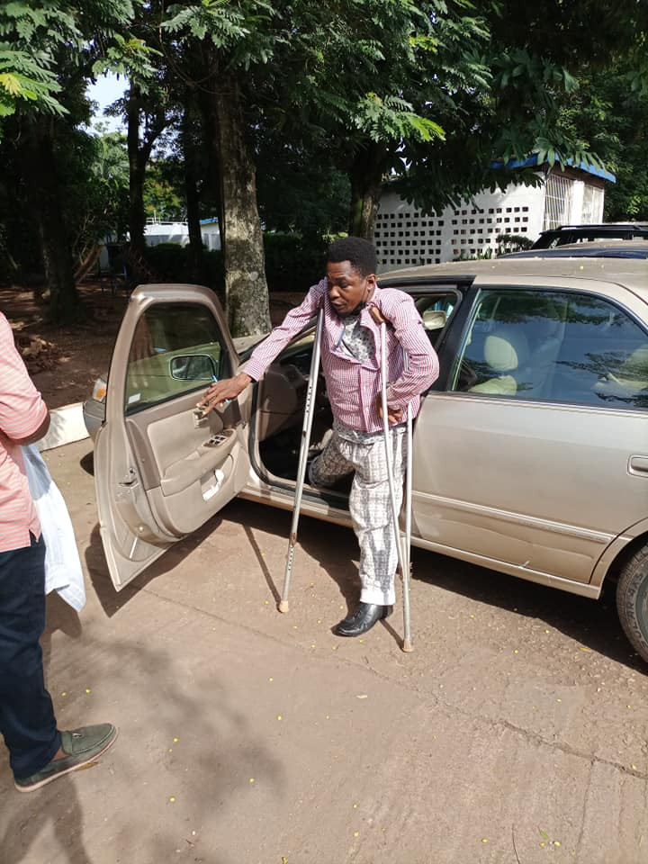 Edo community youth leader allegedly assaults physically challenged man for addressing him by his name instead of
