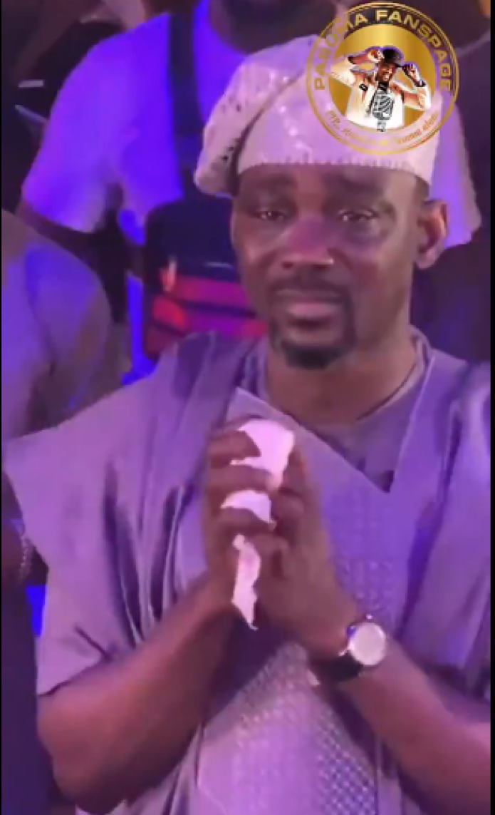 Fuji Star Pasuma Bursts Into Tears As Daughter Gets Married