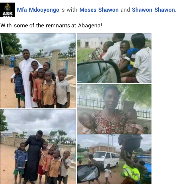 Photos of IDPs fleeing after suspected herdsmen attacked camp in Benue and killed 10