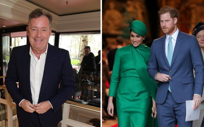 Piers Morgan Ask Meghan Markle And Prince Harry To Name Royal Who Rejected Her Cry For Help