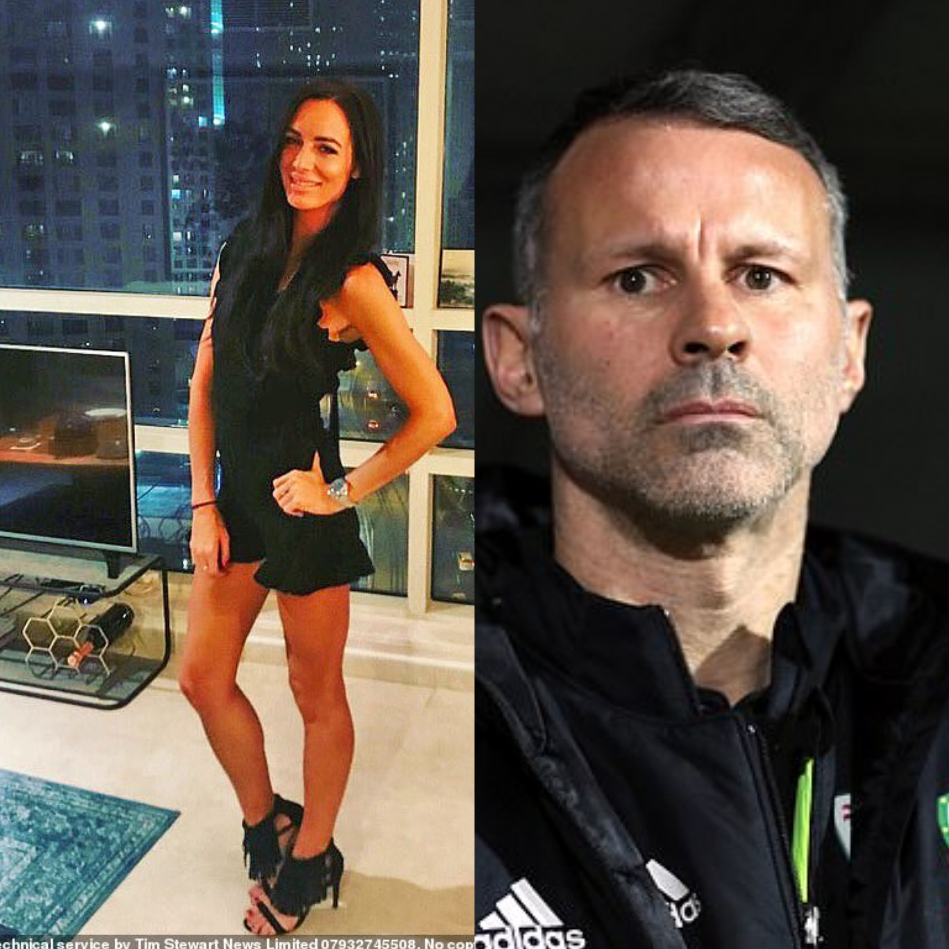 Police charge Ryan Giggs with physical assault, controlling and coercive behaviour towards his ex-girlfriend Kate Greville