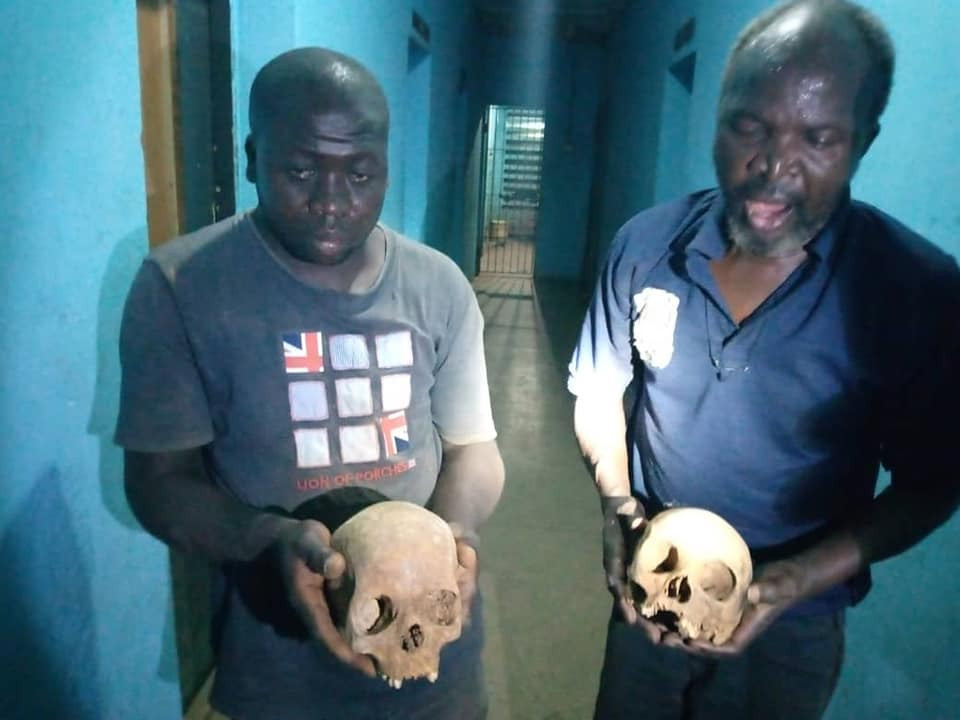 Two suspected ritualists nabbed with human skulls at Muslim cemetery in Kaduna