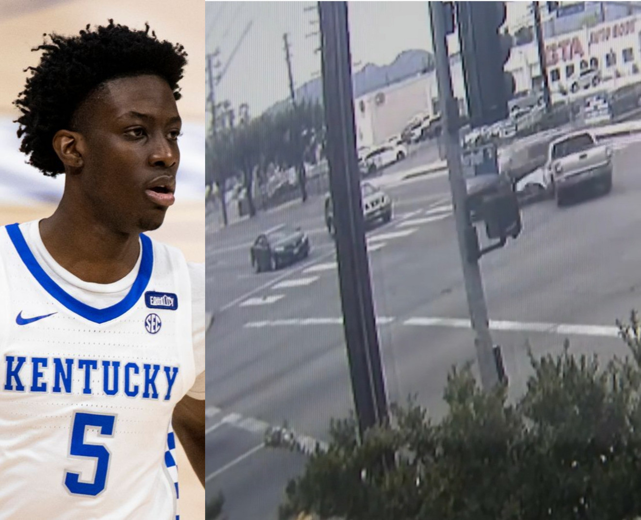 Video shows the fatal accident that took basketball player, Terrence Clarke