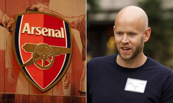 Spotify CEO, Daniel Ek says Arsenal club owner, Kroenke, rejected his bid for the club