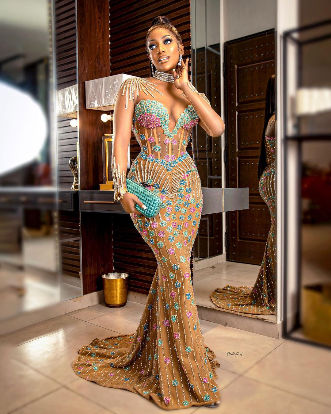 Chioma Goodhair- A Chic Outfit To Party With