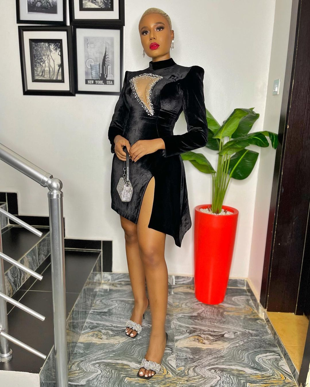 2. Nancy Isime- Keeping It Bold And Fashionable
