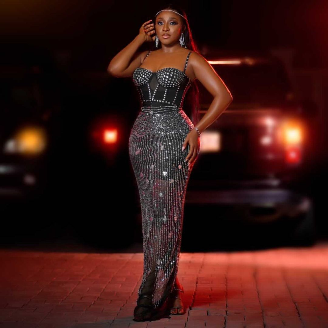 Ini Edo- Stepping Out In All Glamour